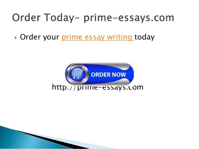Prime essay writing