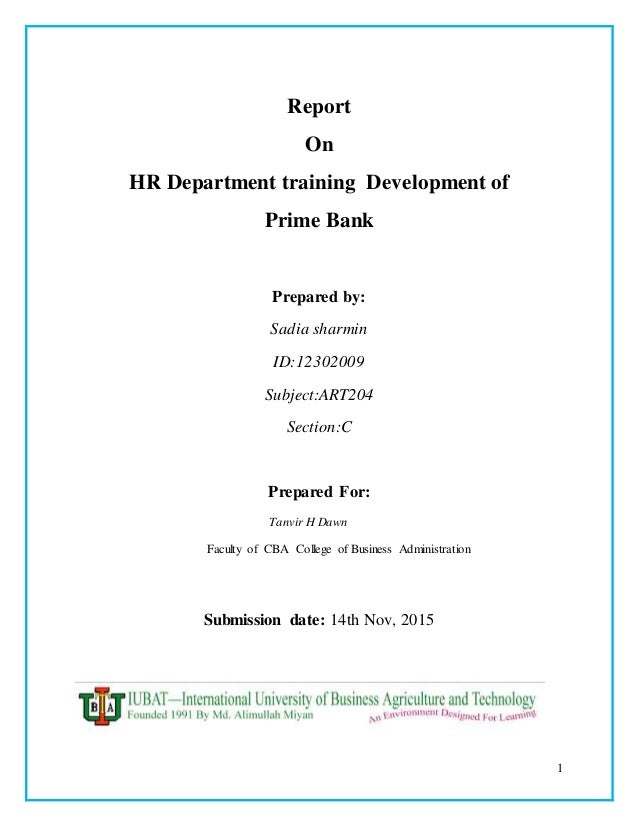 internship report on hr policy We recognize how important internships are in final internship report with the signatures of the internship supervisor and an hr representative of.