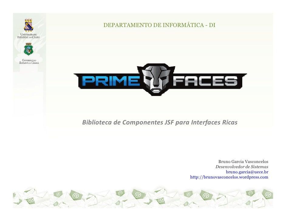 DEPARTAMENTO DE INFORMÁTICA - DIBiblioteca de Componentes JSF para Interfaces Ricas                                       ...