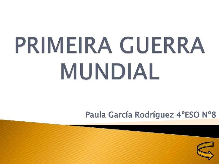 Paula García Rodríguez 4ºESO Nº8