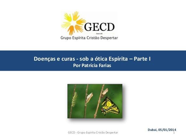 Primeira reuniao GECD - 2014
