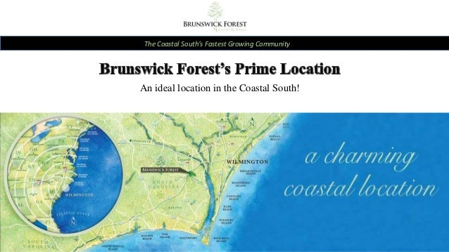 The Coastal South's Fastest Growing Community An ideal location in the Coastal South!