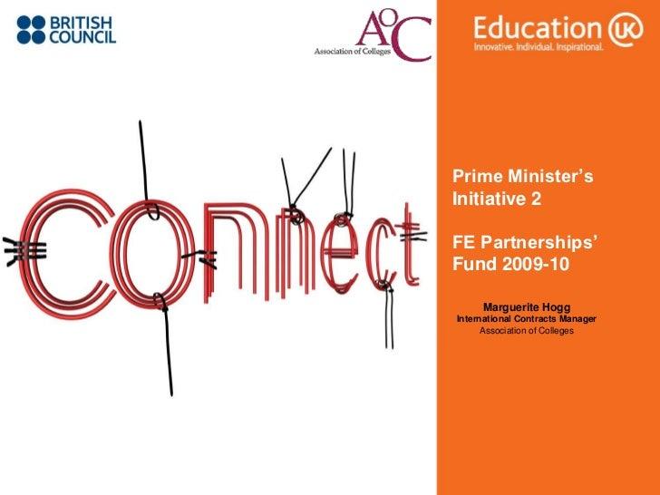Prime Ministers Initiative Presentation