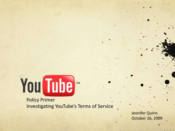 Online Policy Primer - NET23