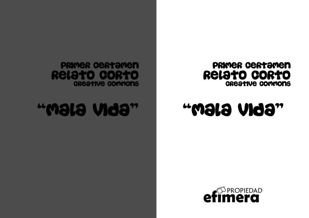 Primer certamen         Primer certamen  Relato corto            Relato corto     Creative commons        Creative commons...