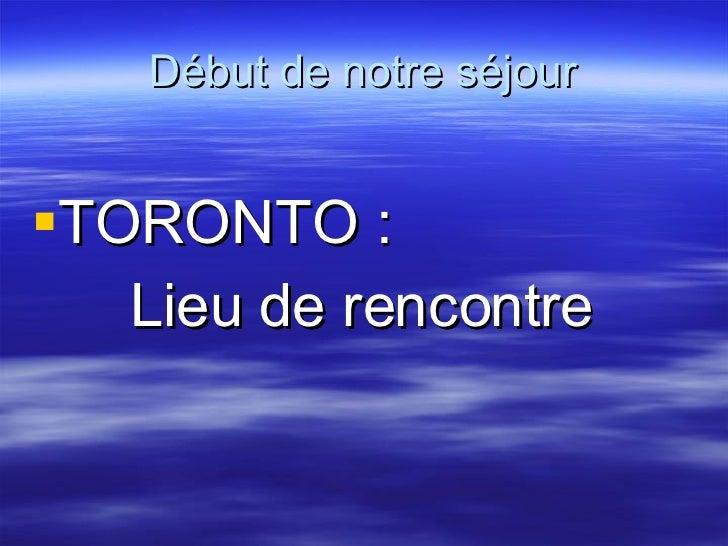 Primera Parte   PresentacióN Canada 2008
