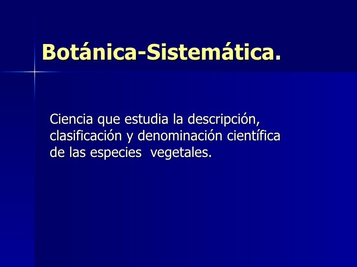 Primera clase bot nica sistem tica for Libros de botanica pdf