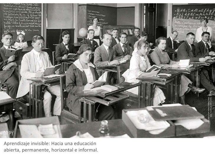Primera presentacion de aprendizaje invisible en santander