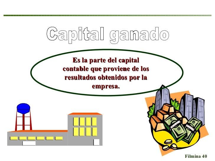 Capital contabilidad parte del capital contable