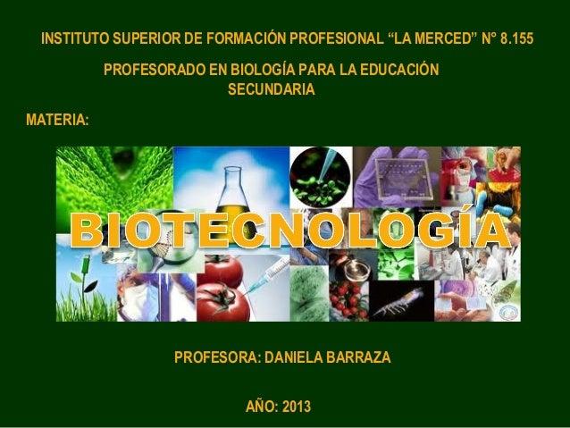 Biotecnología I