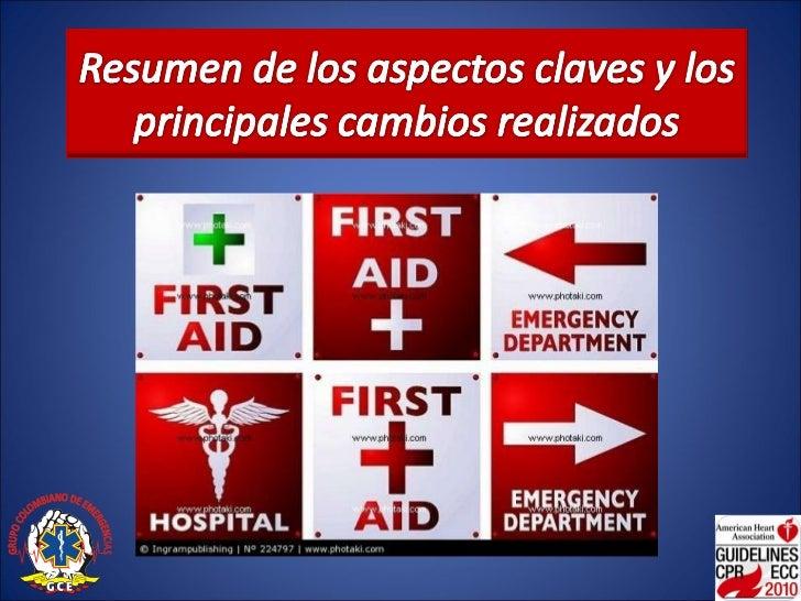 Primeros auxilios 2010