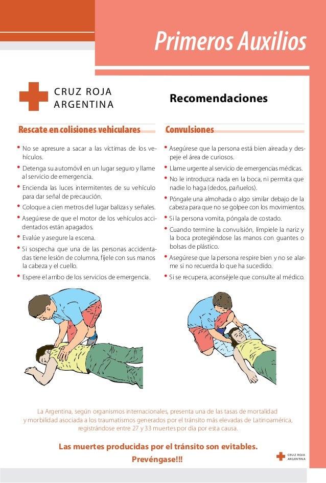 Primeros Auxilios Cruz Roja
