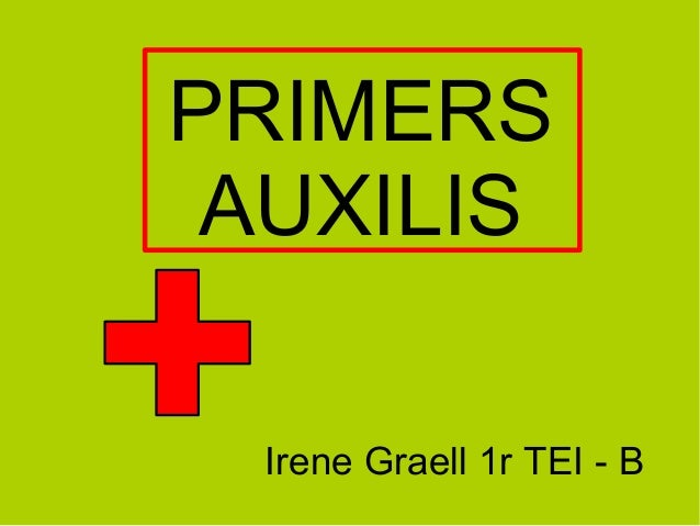 Irene Graell 1r TEI - BPRIMERSAUXILIS