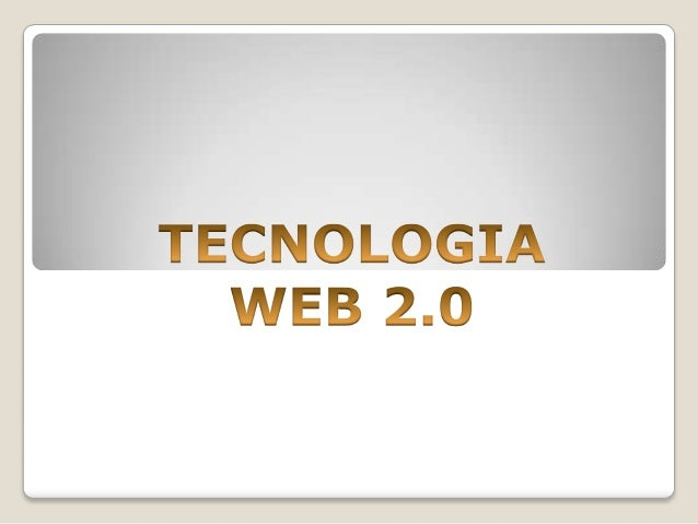 Primer trabajo en clase de tecnologia web 2.0