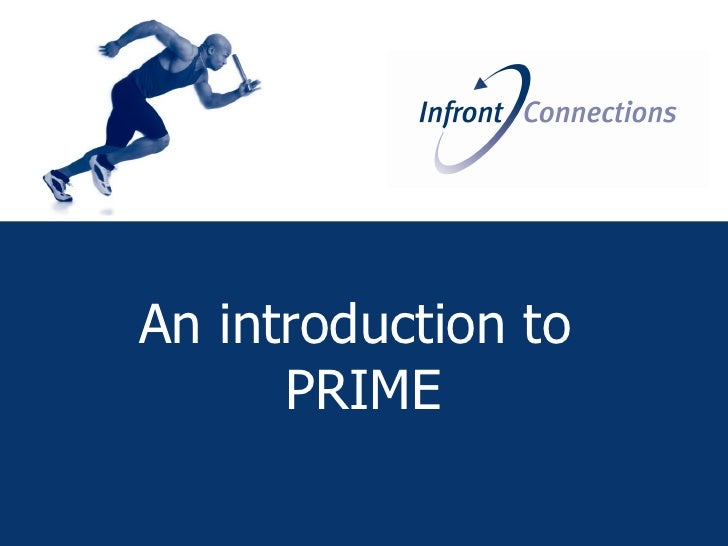 An introduction to       PRIME