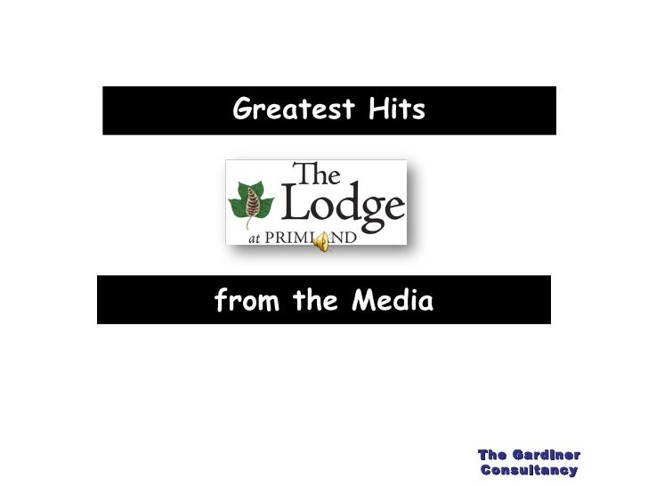 from the Media Greatest Hits The Gardiner Consultancy