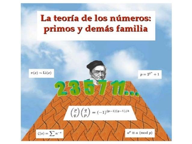 • Es la parte de las Matemáticas queEs la parte de las Matemáticas que estudia los números enteros y susestudia los número...
