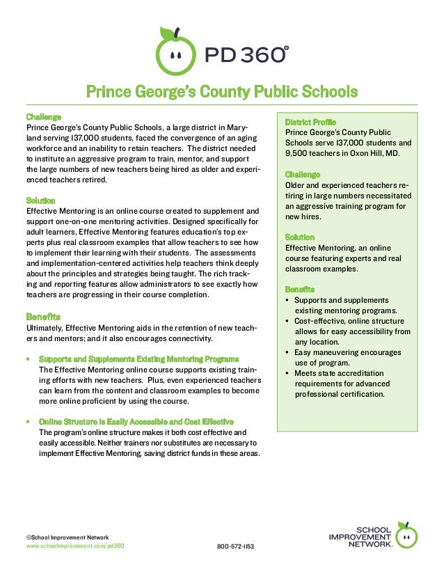 Prince George County, MD - PD 360 Case Study
