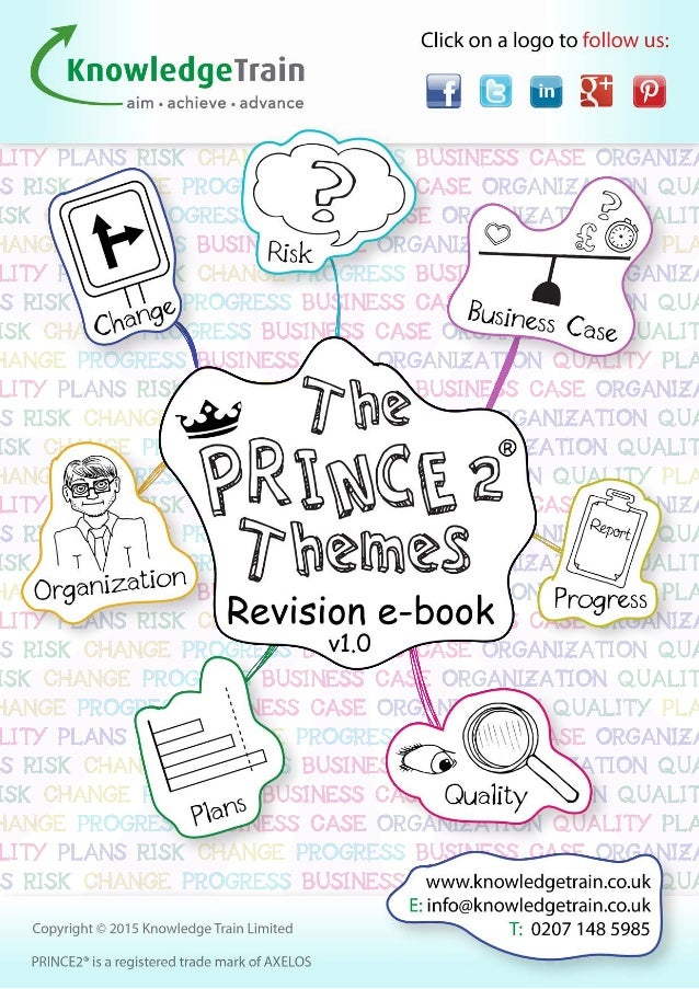 PRINCE2 Foundation revision ebook - with 7 hand illustrated mindmaps!