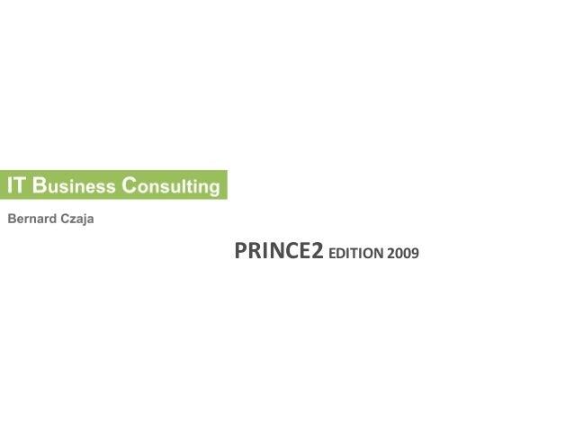 PRINCE2 EDITION 2009