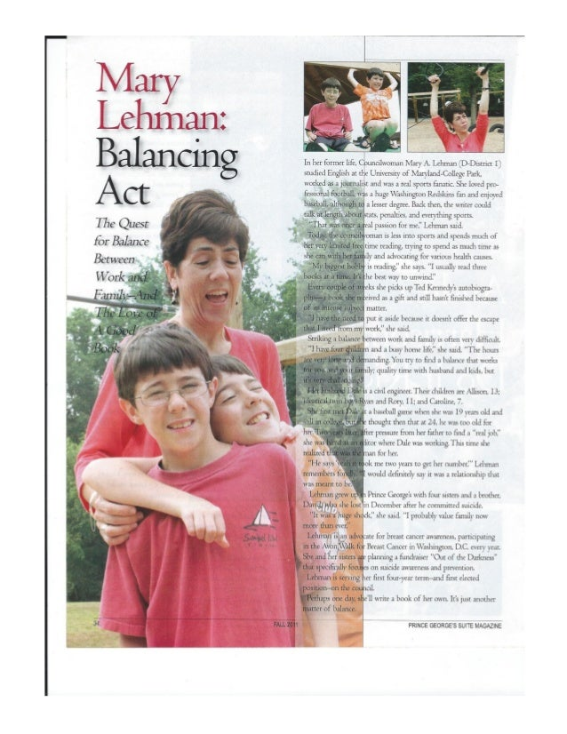 Prince george's suite magazine   legislator profile mary lehman