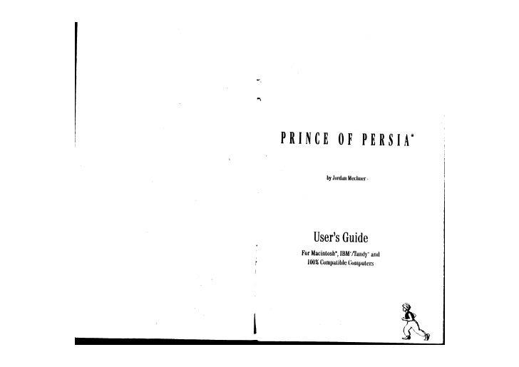 Prince-Of-Persia-Manual-(1989)(Broderbund-Software-Inc)
