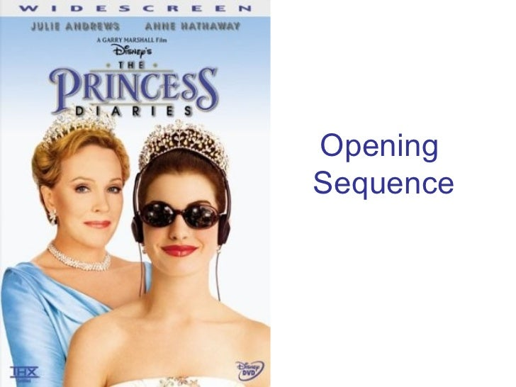 Princess Diaries Opening Sequence