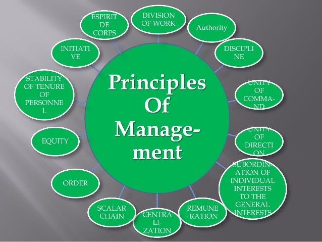 principles of managers and management Principles of leadership and management level 3 – f/506/2596 2  d to establish stakeholder engagement 2 a team is lacking motivation and the manager is planning to use frederick taylor's scientific management theory to help resolve this  c it supports the business's core principles.