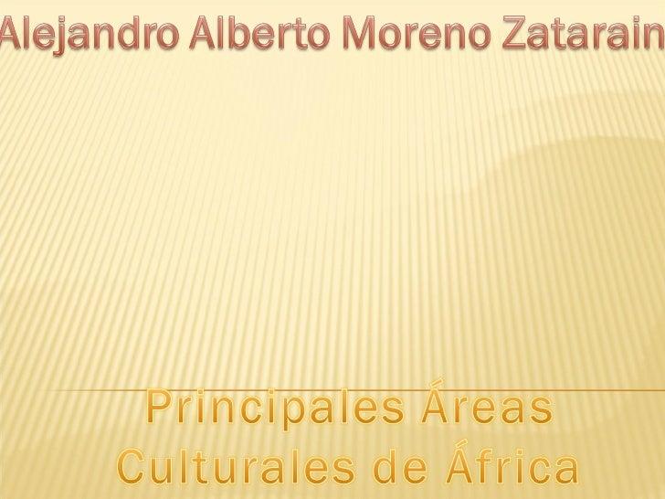 Principales areas culturales de africa