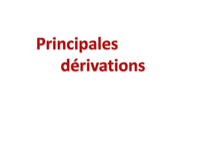 1. Noms dérivés de verbe1. Noms dérivés de verbeNoms de procés•Suffixation:-(a)tion: manifestation, évolution-(e)ment: bla...