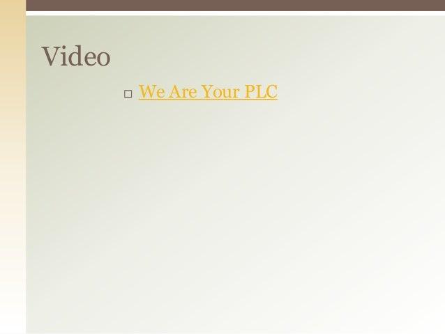 Principal plc presentation   6-8 & k-8 version
