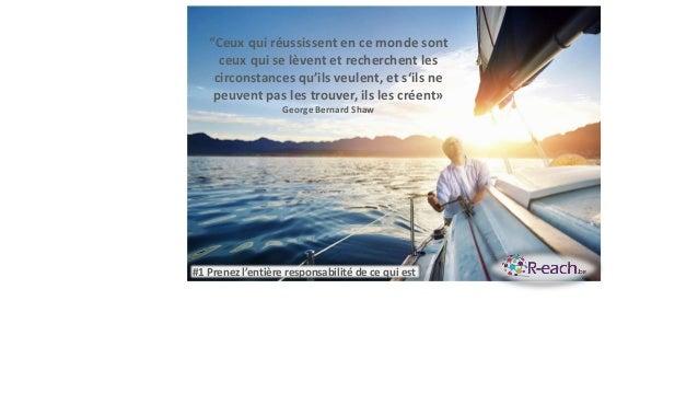"""""""Ceux qui réussissent en ce monde sont ceux qui se lèvent et recherchent les circonstances qu'ils veulent, et s'ils ne peu..."""