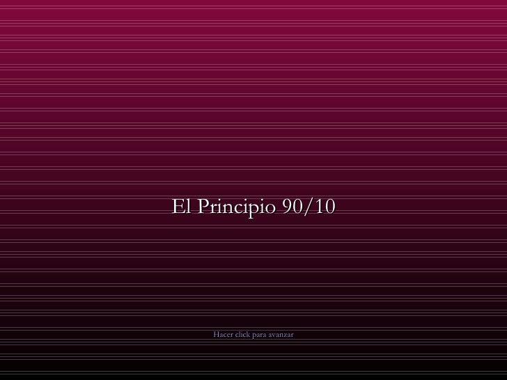 Principio 90/10