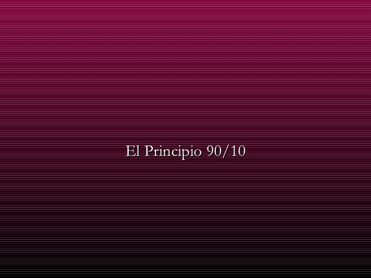 Principio 90 10__