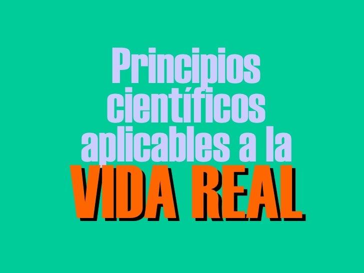 Principios Cientificos