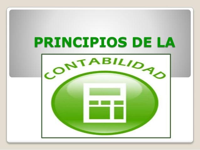 PRINCIPIOS DE LA