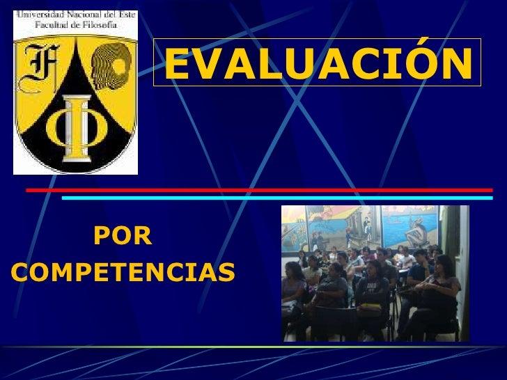 Principios de la evaluacion