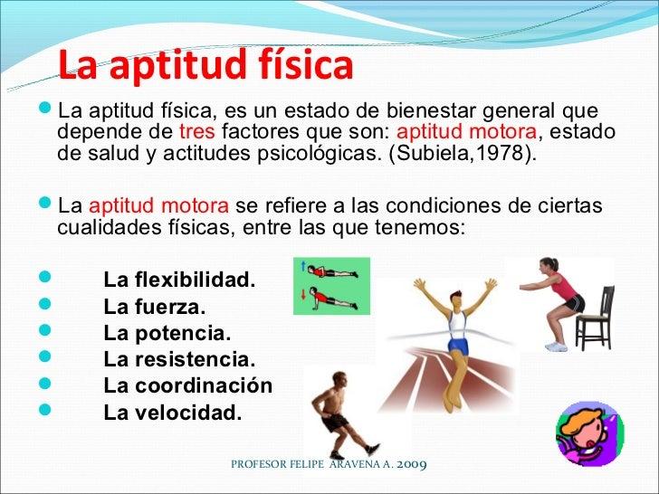 Aptitud Fisica la Aptitud Físicala Aptitud