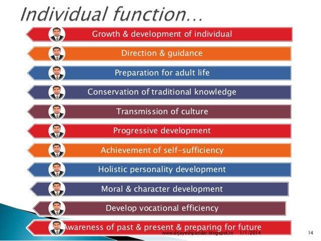 role of school in personality development