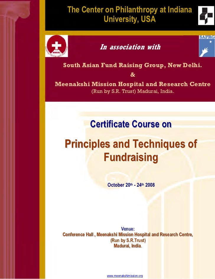 Fundraising Course
