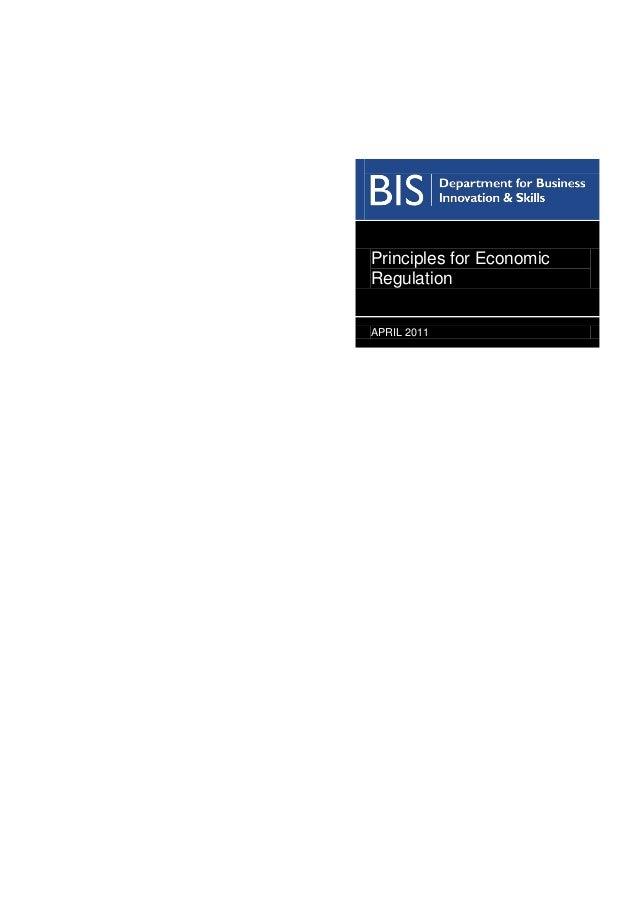 Principles for-economic-regulation