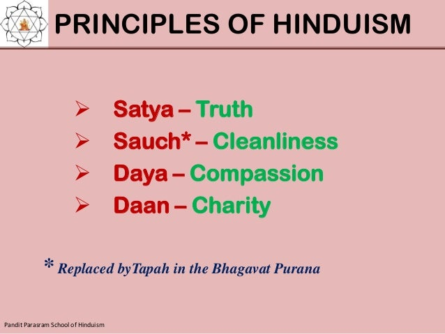 the principles of the hinduism in the world Hindus in the western world and preservation of ages-old principles and mythology derived from hinduism that have become a valuable part of world history and global culture countries with the largest hindu populations rank country hindu population (2010.