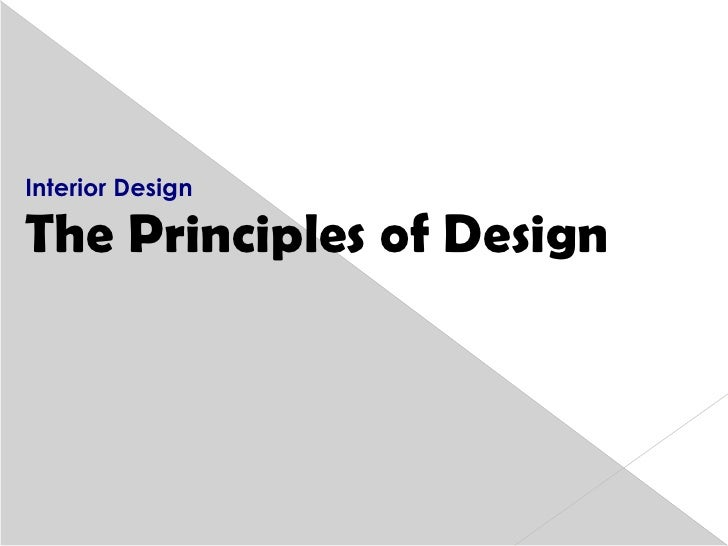 elements and principles of interior design ppt Elements and Principles of Design Book Graphic Design Elements and Principles