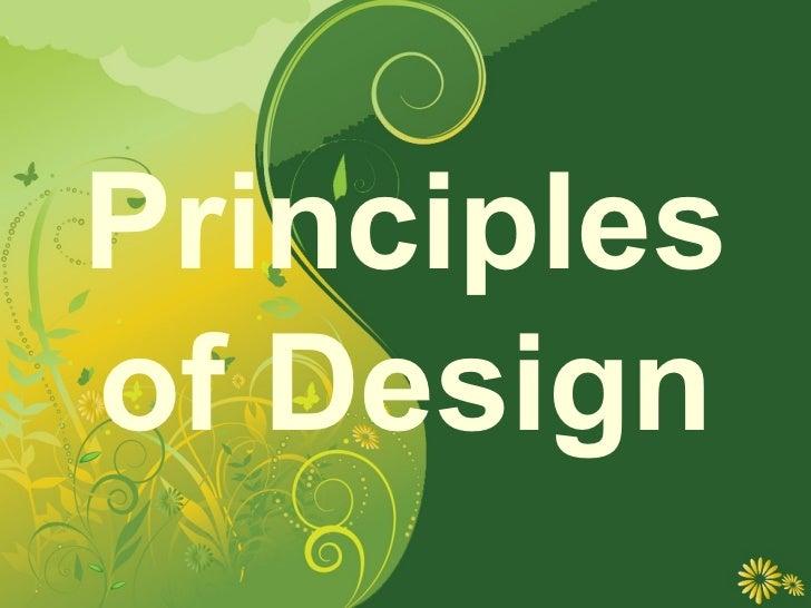 Principlesof Design