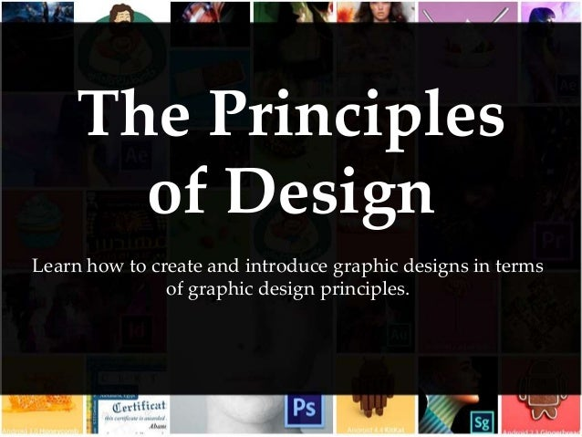 Principles of Design - Graphic Design Theory