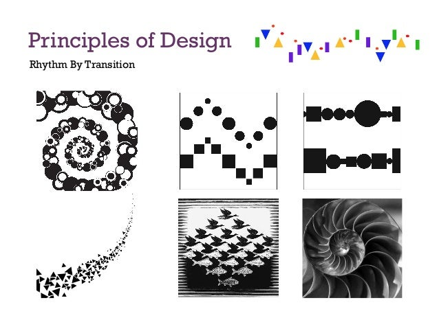 Elements And Principles Of Design Rhythm : Principles of design
