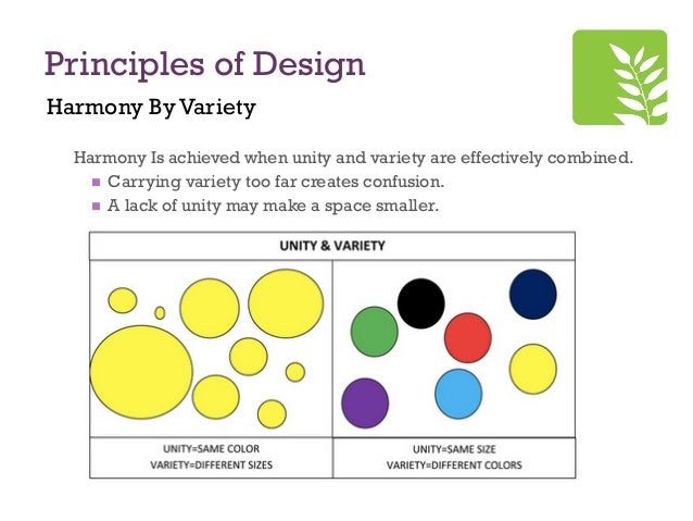 Principles Of Design Harmony : Principles of design