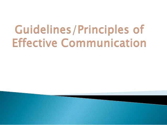 Effective communication is a part and parcel of any successful organization. A communication should be free from barriers ...