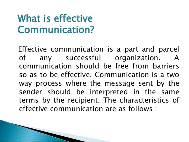 ... Assignment 1 Fundamental of Effective Communication in the Workplace
