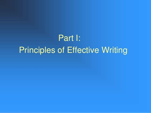principles of good writing essay Discussing principles and importance of good record keeping nursing essay  nursing essay writing service free essays more nursing essays examples of our work .